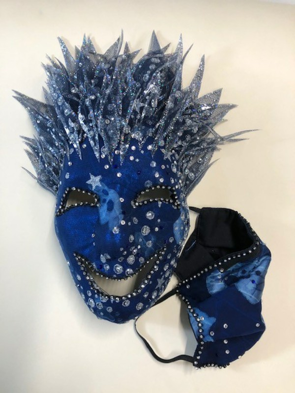 Photo Flash: CPFWE and The Actor's Fund Team Up to Auction Off Art-Masks Created by Broadway Artists