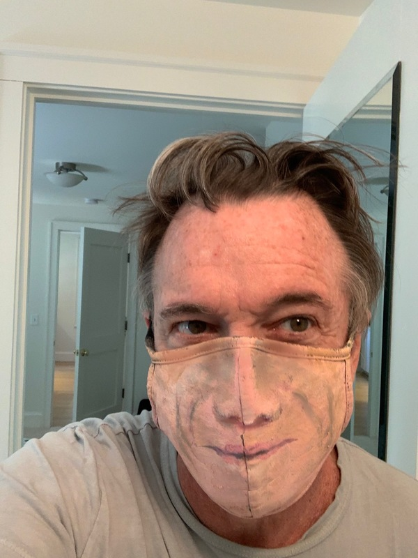 Hand-Drawn/Painted MasquerAID Masks by Tony Award- Winning Designers, Beowulf Boritt  Photo