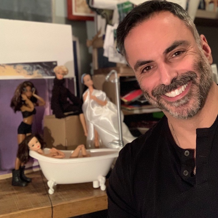 BWW Feature: Dollmation Attack! Warren Wright's Barbie Dolls take on Fosse, Madonna, and I Love Lucy.