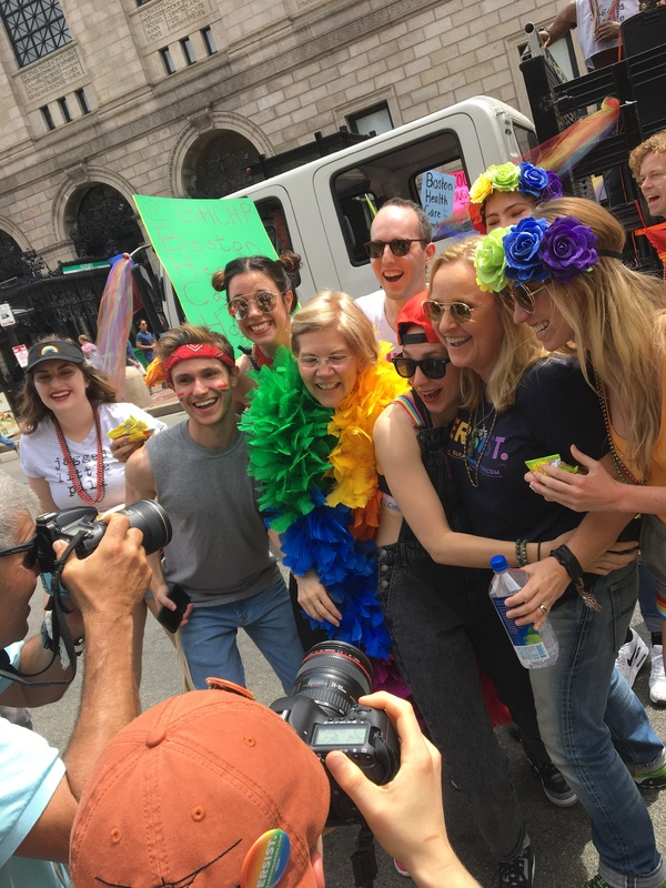 Behind the Rainbow Flag: Lauren Patten Shares the Story of Her First Pride Parade as an Openly Queer Person