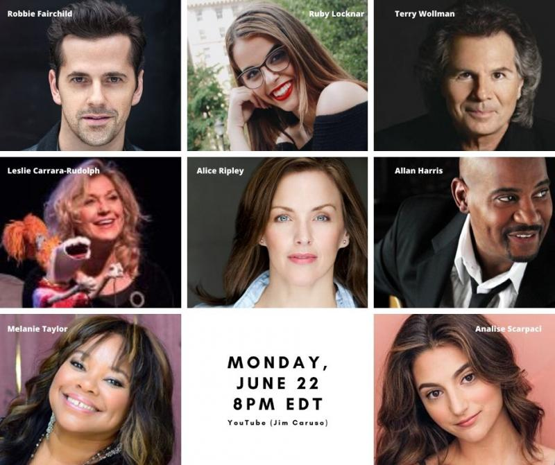 BWW Previews: Alice Ripley and Robbie Fairchild Lead List of Guests for June 22nd Episode of JIM CARUSO'S PAJAMA CAST PARTY