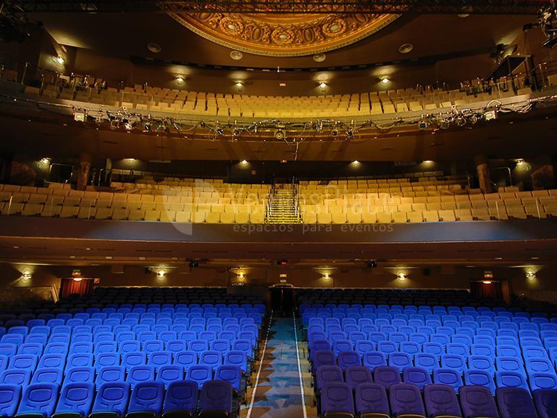 Aumenta el aforo permitido en teatros de Madrid a partir de julio