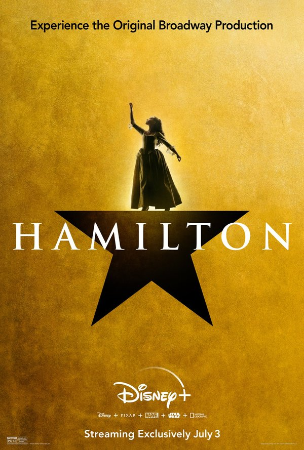 Photo Flash: Disney+ Releases HAMILTON Film Character Posters