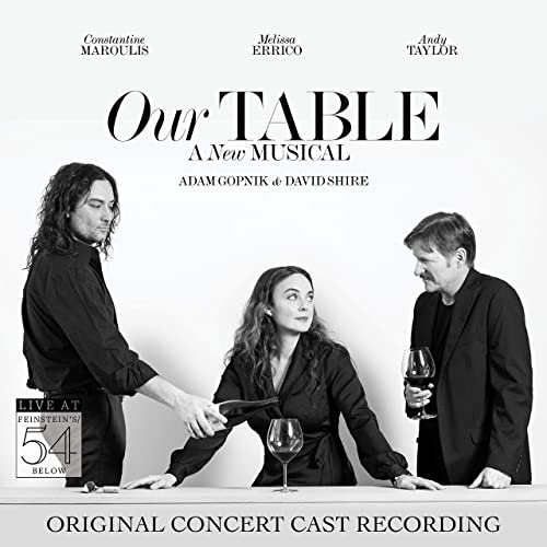 New and Upcoming Releases For the Week of June 22 - Robbie Rozelle, OUR TABLE With Melissa Errico & Constantine Maroulis, and More!