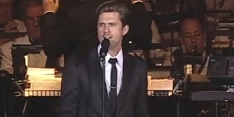 VIDEO: Aaron Tveit Sings Sondheim's 'Broadway Baby' with the Pasadena Pops Photo