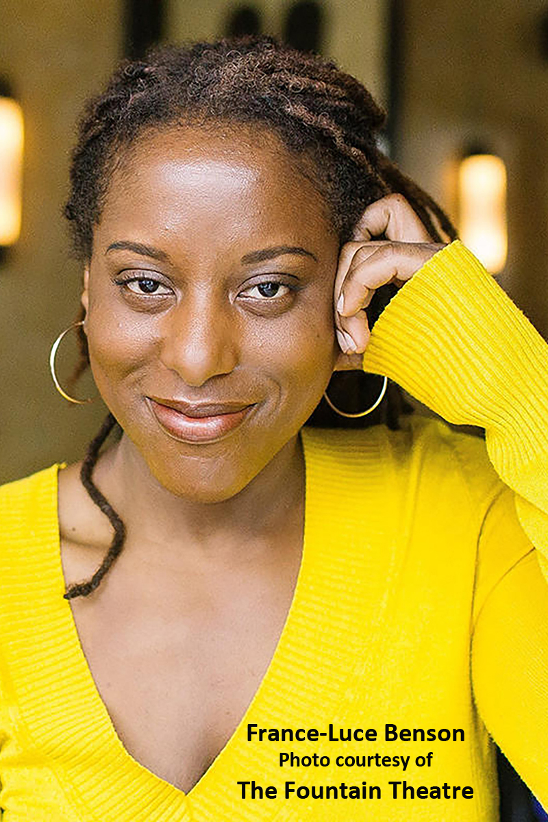 BWW Interview: Playwright France-Luce Benson's Been Ready For SHOWTIME - BLUES