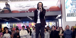 Broadway Rewind: Lin-Manuel Miranda Announces HAMILTON's Transfer Uptown to Broadway! Video