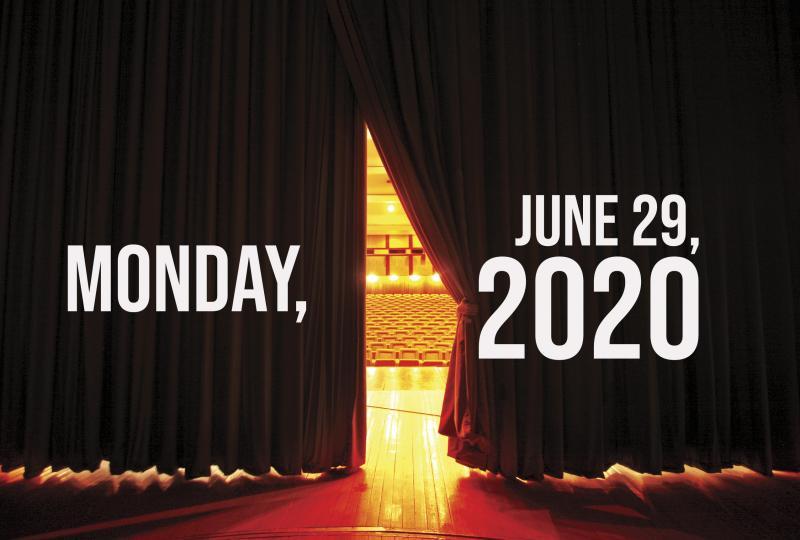 Virtual Theatre Today: Monday, June 29- Ali Ewoldt, Daniel J. Watts and More
