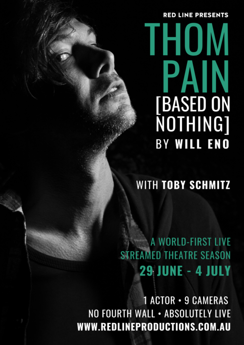 BWW REVIEW: Will Eno's THOM PAIN (BASED ON NOTHING) Is Presented For A Socially Distanced Audience In A Live Performance Streamed Online.