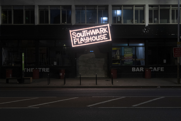 Photo Flash: A Look at the Dark Theatres of the West End, in Support of Scene/Change