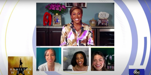 Renee Elise Goldsberry, Phillipa Soo, Jasmine Cephas Jones Talk HAMILTON Video