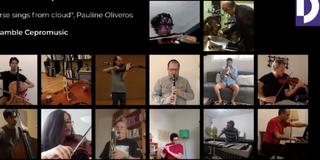 El Ensamble Cepromusic Estrena Horse Sings From Cloud De Pauline Oliveros Vía Online Photo