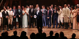 Spotlight on HAMILTON: Flash Back to the Historic Opening Night on Broadway Video