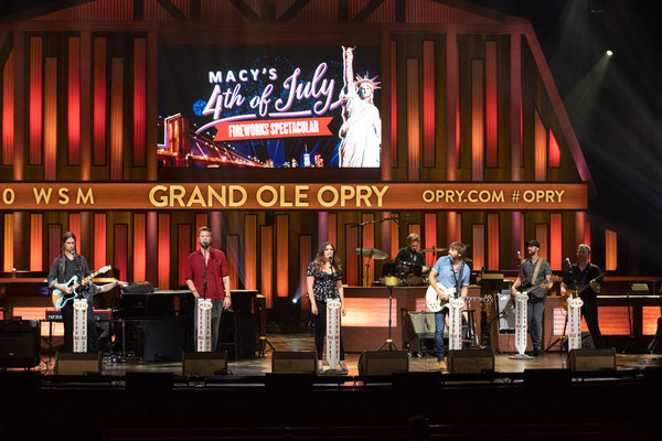 Charles Kelley, Hillary Scott, Dave Haywood of Lady A   Photo by: Grand Ole Opry/Chri Photo