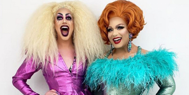 Listen to Drag Stars Alexis Michelle & Dusty Ray Bottoms On ADD THIS TO YOUR LIST Podcast Photo