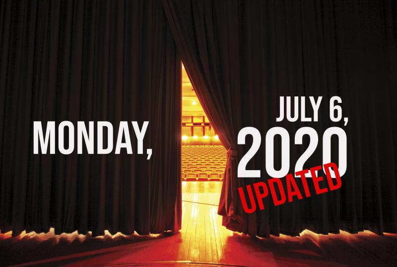 Virtual Theatre Today: Monday, July 6- with Melissa Errico, Jay Armstrong Johnson & More!