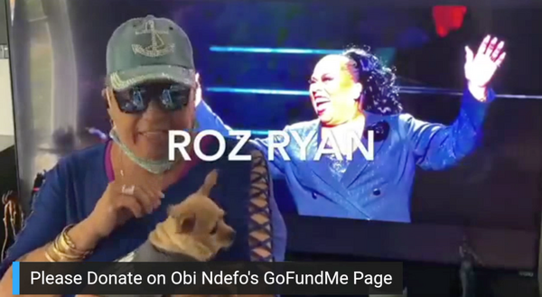 Roz Ryan and her pooch (and grandkid back-up singers!) offers High Hopes to fellow L. Photo