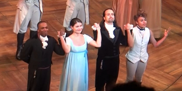 VIDEO: On This Day, July 9- Lin-Manuel Miranda, Phillipa Soo, Ariana DeBose, and Leslie Od Photo
