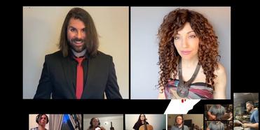 VIDEO: Quentin Garzón and Yvette Gonzalez-Nacer Sing 'Before The Lobotomy/Extraordinary Gi Photo