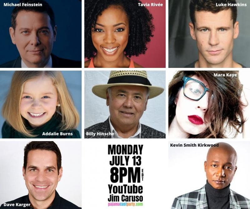 BWW Previews: Jim Caruso's Pajama Cast Party Welcomes Michael Feinstein In Jam-Packed July 13th Episode