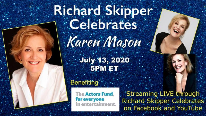 BWW Previews: Richard Skipper Sits Down With Karen Mason for July 13th Episode of RICHARD SKIPPER CELEBRATES