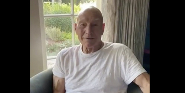 VIDEO: Sir Patrick Stewart Celebrates His 80th Birthday With Shakespeare's Sonnet 80 Photo