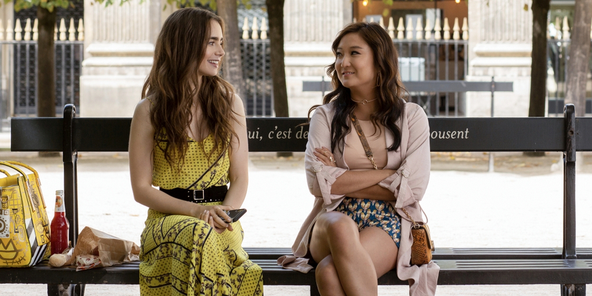 EMILY IN PARIS, Starring Lily Collins and Ashley Park, Comes To Netflix This Fall Photo