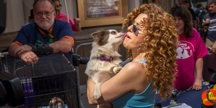 VIDEO: Bernadette Peters Visits Backstage LIVE with Richard Ridge Video