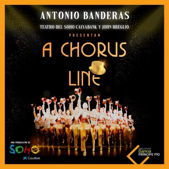 A CHORUS LINE llegará a Madrid en septiembre con Antonio Banderas