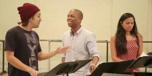 Broadway Rewind: Lin-Manuel Miranda, Leslie Odom Jr. & Karen Olivo Sing TICK, TICK... Video