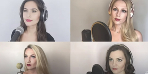 Ida Girls London Perform LES MISERABLES Medley Video