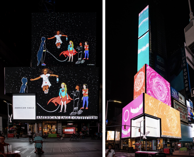 New Artworks by Jenny Holzer, Mel Chin and Xaviera Simmons Join Ongoing Citywide PSA Campaign