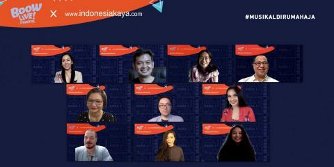 BWW Previews: Thespians and Filmmakers Join Forces in #MUSIKALDIRUMAHAJA Series by INDONESIA KAYA