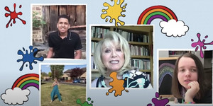 Elaine Paige and The Children's Trust 'Sing a Rainbow' Video