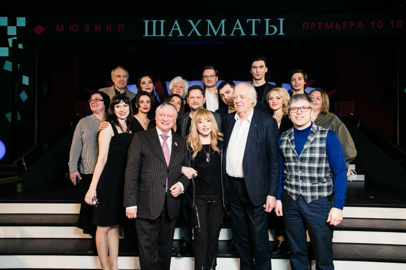 Russia's CHESS Is Set To Premiere on October 17 at MDM Theatre