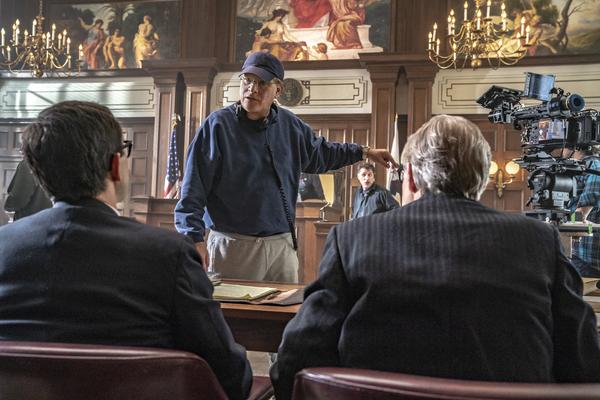 JOSEPH GORDON-LEVITT as Richard Schultz, AARON SORKIN Director/Writer, J.C. MACKENZI Photo