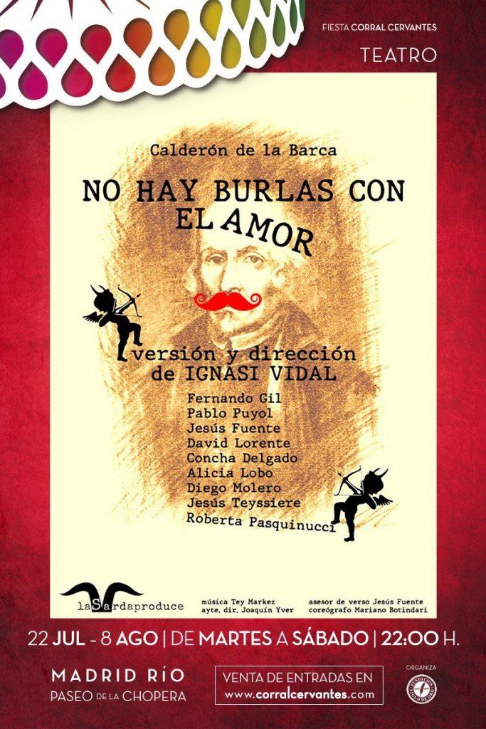NO HAY BURLAS CON EL AMOR se estrena en el Festival Fiesta Corral Cervantes