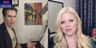 Exclusive: Megan Hilty Sings 'Moving The Line' as Part of The Seth Concert Series; Re-Airs Photo