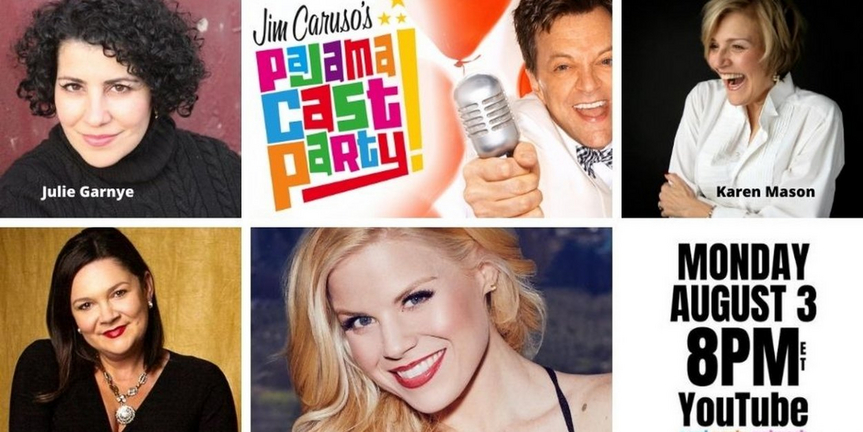 VIDEO: Watch Megan Hilty & More on Jim Caruso's Pajama Cast Party- Live Now! Photo