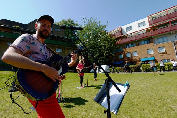 Photo Flash: Northern Stage Brings Music to People's Doorsteps