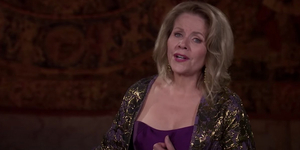 Renee Fleming Performs 'O mio babbino caro' Video