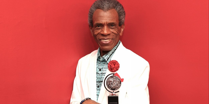 VIDEO: André De Shields Visits Backstage LIVE with Richard Ridge- Wednesday at 1pm! Video