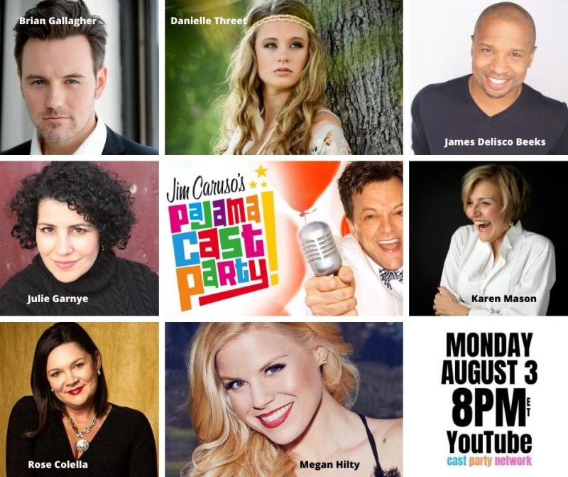 BWW Previews: Karen Mason and Megan Hilty Lead Impressive List Of Guests On August 3rd JIM CARUSO'S PAJAMA CAST PARTY