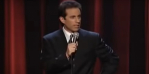 On This Day, August 5 - Jerry Seinfeld Makes Broadway Laugh Video