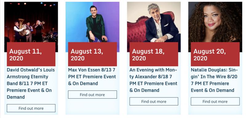 Birdland Jazz Club Brings Concert Series To BroadwayWorld Events: Max Von Essen, Jessica Vosk, Kate Rockwell, Telly Leung, & More Announced!