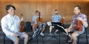 VIDEO: The Miro Quartet Demonstrates How They Practice Scales Together