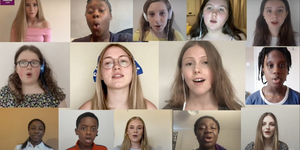 Young West End Stars Perform 'Give Me Strength' Video