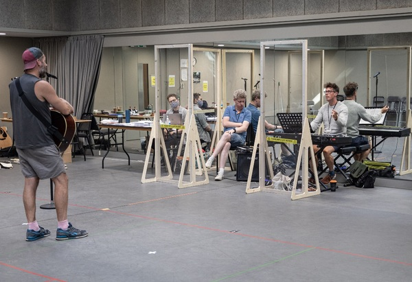 Photo Flash: Inside Rehearsal For JESUS CHRIST SUPERSTAR: THE CONCERT at Regent's Park Open Air Theatre