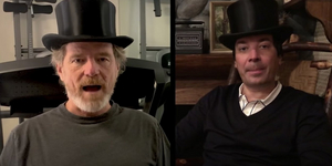 Bryan Cranston and Jimmy Fallon Show Off Their Hats Video