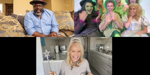 Chenoweth Surprise WICKED Fans on GREATEST #ATHOMEVIDEOS Video
